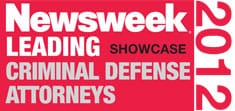 Newsweek 2012: Criminal Defense Attorneys